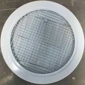圆形蛋格式风口带铝阀